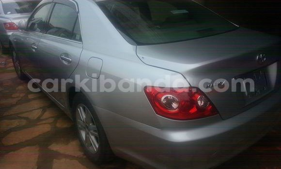 Buy Used Toyota Mark X Silver Car in Kampala in Uganda