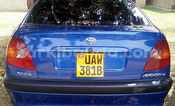 Buy Used Toyota Avensis Blue Car in Kampala in Uganda
