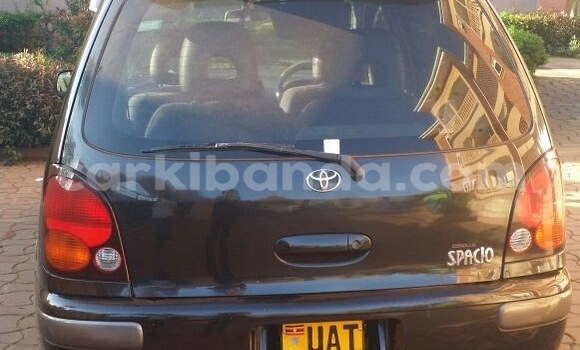 Buy Used Toyota Spacio Black Car in Arua in Uganda