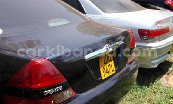Buy Used Toyota Mark II Black Car in Kampala in Uganda
