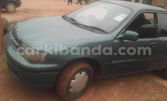 Buy Used Toyota Corsa Green Car in Kampala in Uganda