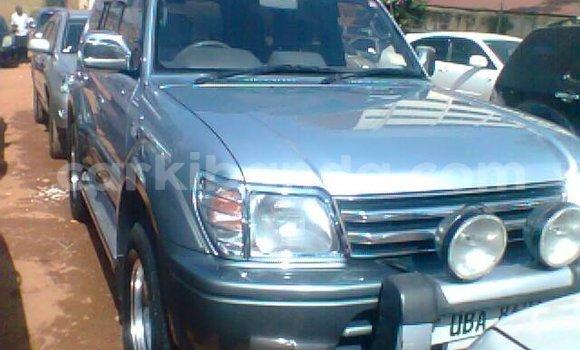 Buy Used Toyota Land Cruiser Silver Car in Kampala in Uganda