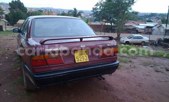 Buy Used Nissan Primera Red Car in Kampala in Uganda