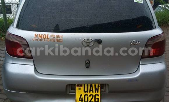 Buy Used Toyota Vitz Silver Car in Kampala in Uganda