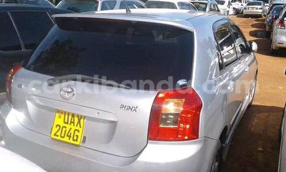 Buy Used Toyota Runx Silver Car in Kampala in Uganda