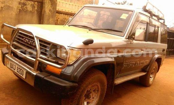 Buy Used Toyota Prado Silver Car in Kampala in Uganda