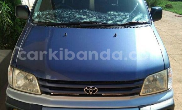 Buy Used Toyota Noah Blue Car in Kampala in Uganda