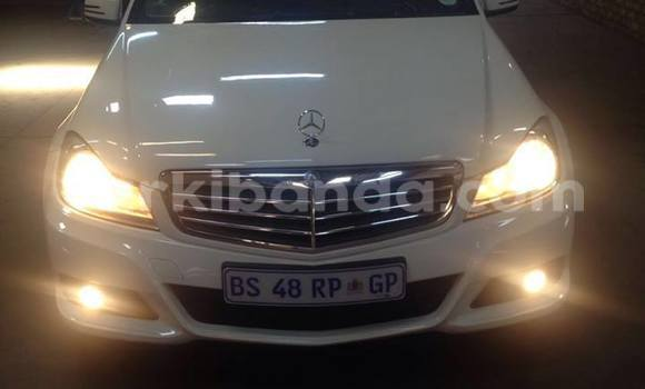 Buy Used Mercedes Benz C–Class White Car in Kampala in Uganda