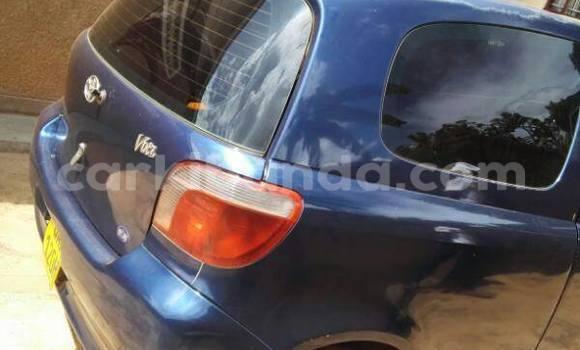 Buy Used Toyota Vitz Blue Car in Kampala in Uganda
