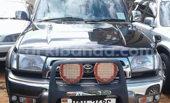 Buy Used Toyota Surf Black Car in Kampala in Uganda