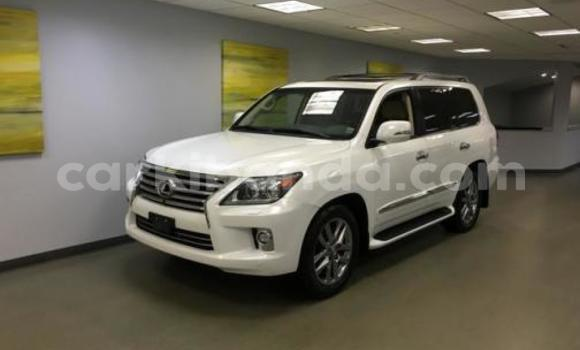 Buy Used Lexus LX White Car in Mbale in Uganda