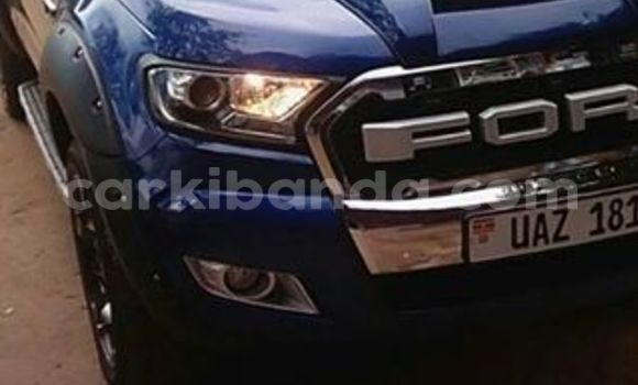 Buy Used Ford Ranger Blue Car in Kampala in Uganda