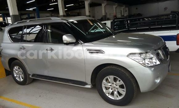 Buy Used Nissan Patrol Silver Car in Kampala in Uganda