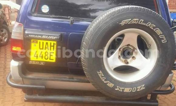 Buy Used Toyota Hilux Surf Blue Car in Kampala in Uganda