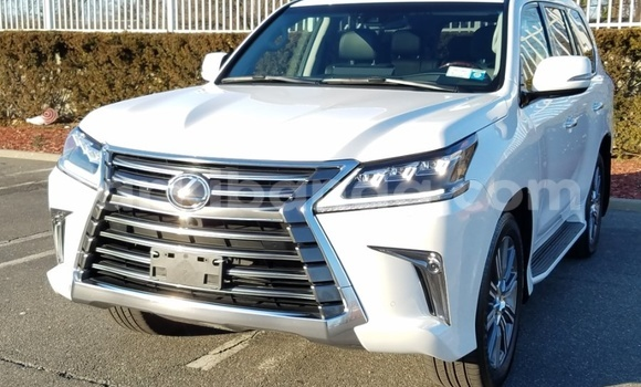 Buy Used Lexus LX White Car in Entebbe in Uganda