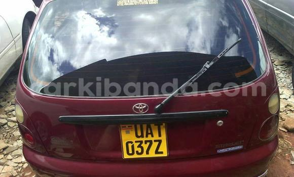 Buy Used Toyota Starlet Red Car in Kampala in Uganda