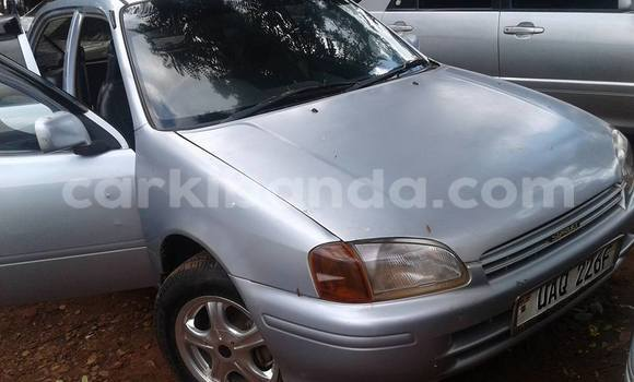 Buy Used Toyota Starlet Silver Car in Kampala in Uganda