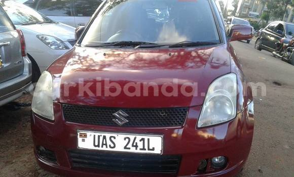 Buy Used Suzuki Swift Red Car in Kampala in Uganda