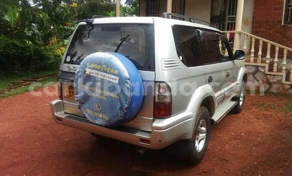 Buy Used Toyota Prado Silver Car in Kampala in Uganda