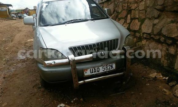 Buy Used Toyota Harrier Silver Car in Kampala in Uganda