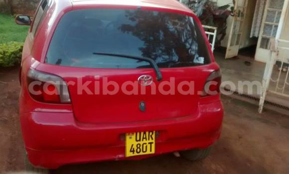 Buy Used Toyota Vitz Red Car in Kampala in Uganda