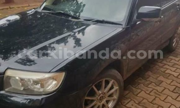 Buy Used Subaru Forester Black Car in Kampala in Uganda