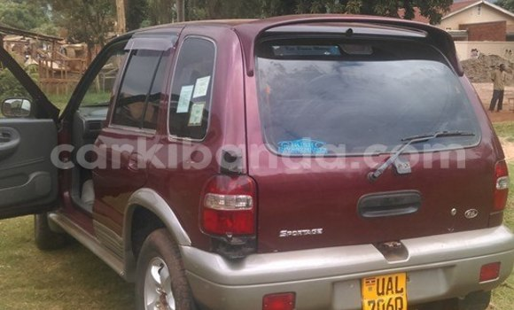 Buy Used Kia Sportage Red Car in Kampala in Uganda