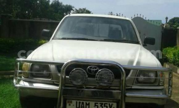Buy Used Toyota Pickup White Car in Kampala in Uganda