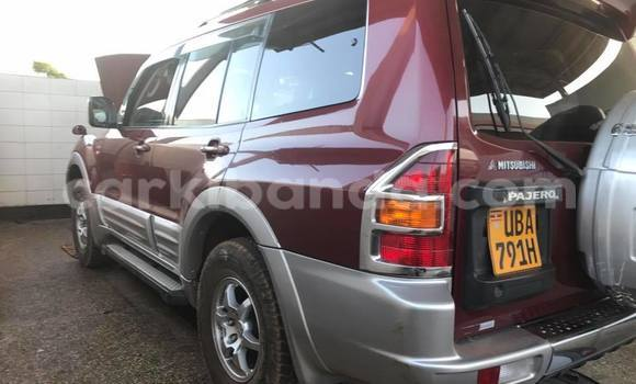 Buy Used Mitsubishi Pajero Red Car in Kampala in Uganda
