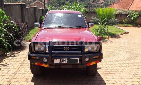 Buy Used Toyota Hilux Red Car in Busia in Uganda