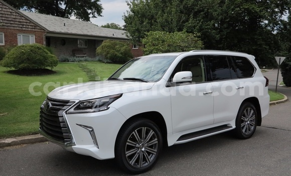 Buy Used Lexus LX White Car in Busia in Uganda
