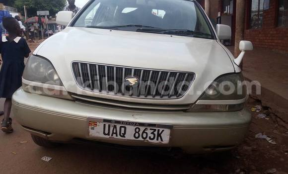 Buy Used Toyota Harrier White Car in Busia in Uganda
