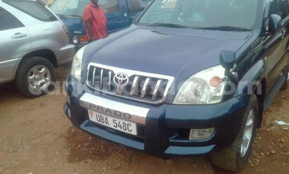 Buy Used Toyota Prado Blue Car in Busia in Uganda