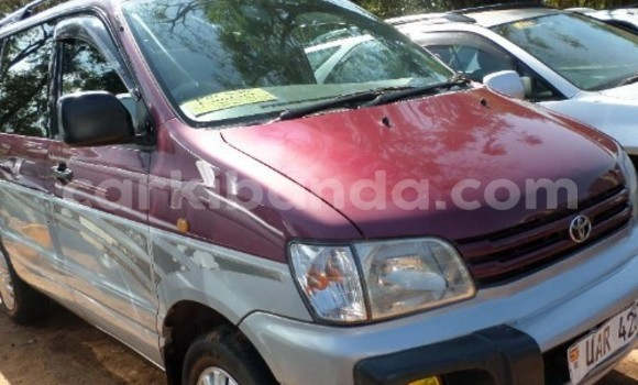 Buy Used Toyota Noah Silver Car in Arua in Uganda