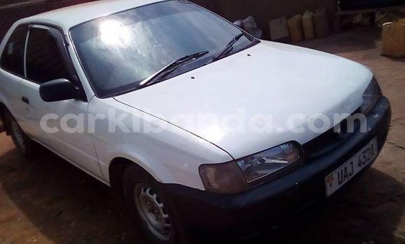 Buy Used Toyota Starlet White Car in Busia in Uganda