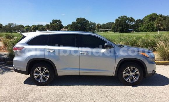 Buy Used Toyota Highlander Silver Car in Masindi in Uganda