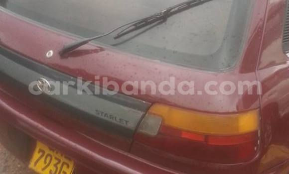 Buy Used Toyota Starlet Red Car in Busia in Uganda