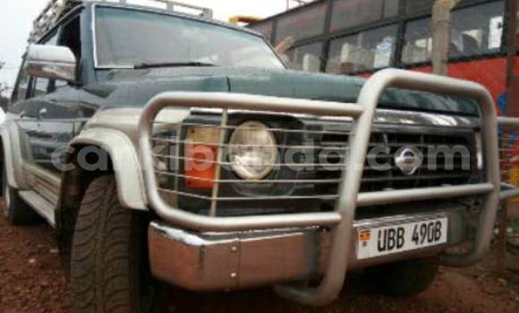Buy Used Nissan Patrol Green Car in Busia in Uganda