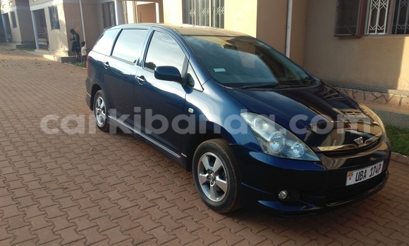 Buy Used Toyota Wish Blue Car in Kampala in Uganda
