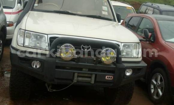 Buy Used Toyota Land Cruiser White Car in Kampala in Uganda