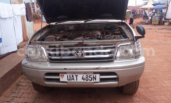 Buy Used Toyota Land Cruiser Prado Silver Car in Busia in Uganda