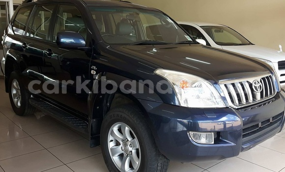 Buy Used Toyota Land Cruiser Prado Blue Car in Kampala in Uganda