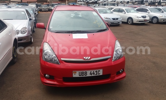 Buy Used Toyota Wish Red Car in Kampala in Uganda