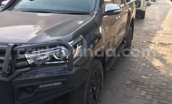Buy Used Toyota Hilux Black Car in Kampala in Uganda