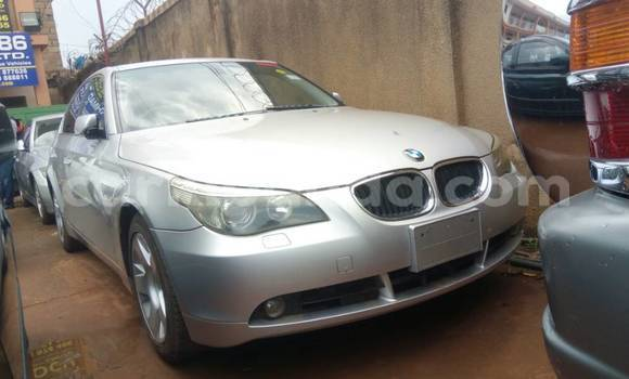Buy Used BMW 5–Series Silver Car in Kampala in Uganda