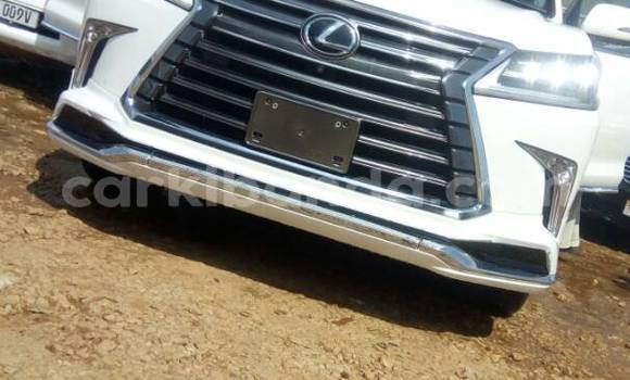 Buy Used Lexus LX 570 White Car in Kampala in Uganda