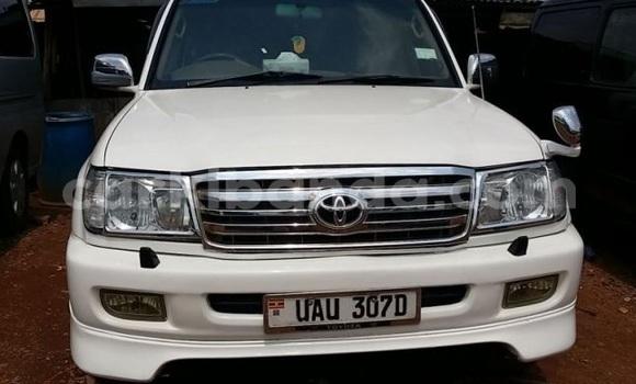 Buy Used Toyota Land Cruiser Prado White Car in Kampala in Uganda