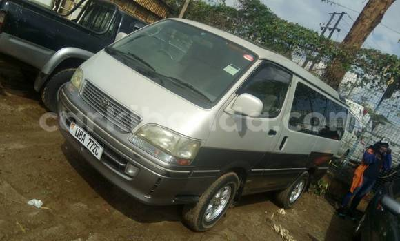 Buy Used Toyota Super Custom Silver Car in Kampala in Uganda