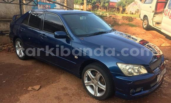 Buy Used Toyota Altezza Blue Car in Kampala in Uganda