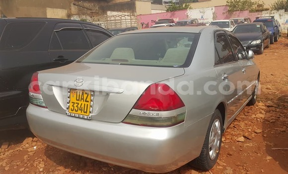 Buy Used Toyota Mark II Silver Car in Kampala in Uganda
